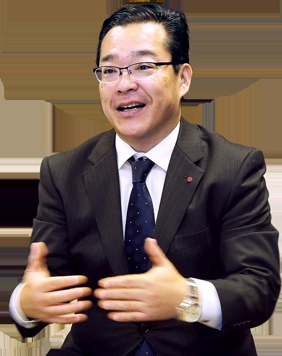 代表取締役社長 磯川 茂二